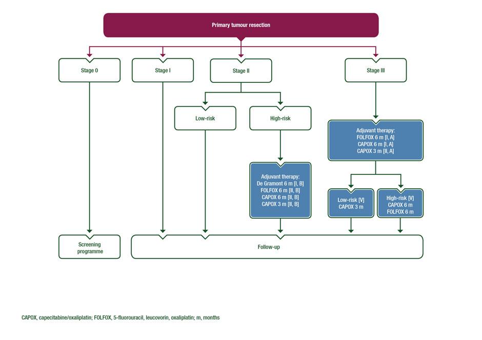 GHID din 2 septembrie de tratament al carcinoamelor colorectale - Anexa nr. 11*)