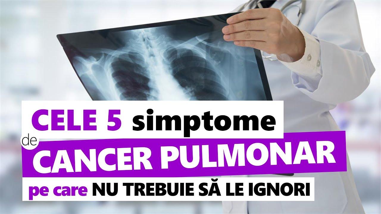 semne ale simptomelor pulmonare