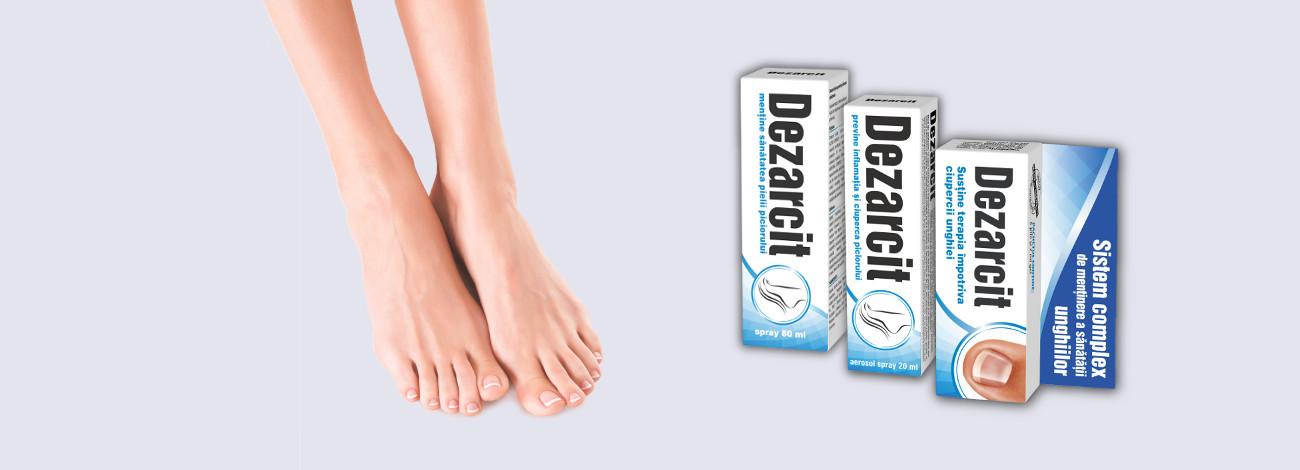 tratarea micozei degetelor de la picioare tenă cu raze x
