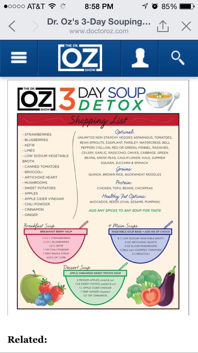 dr oz supliment de detoxifiere hepatică