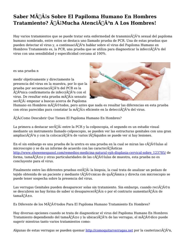 Virus papiloma tratamiento hombres. Papilloma virus interno sintomi - Virus papiloma tratamiento