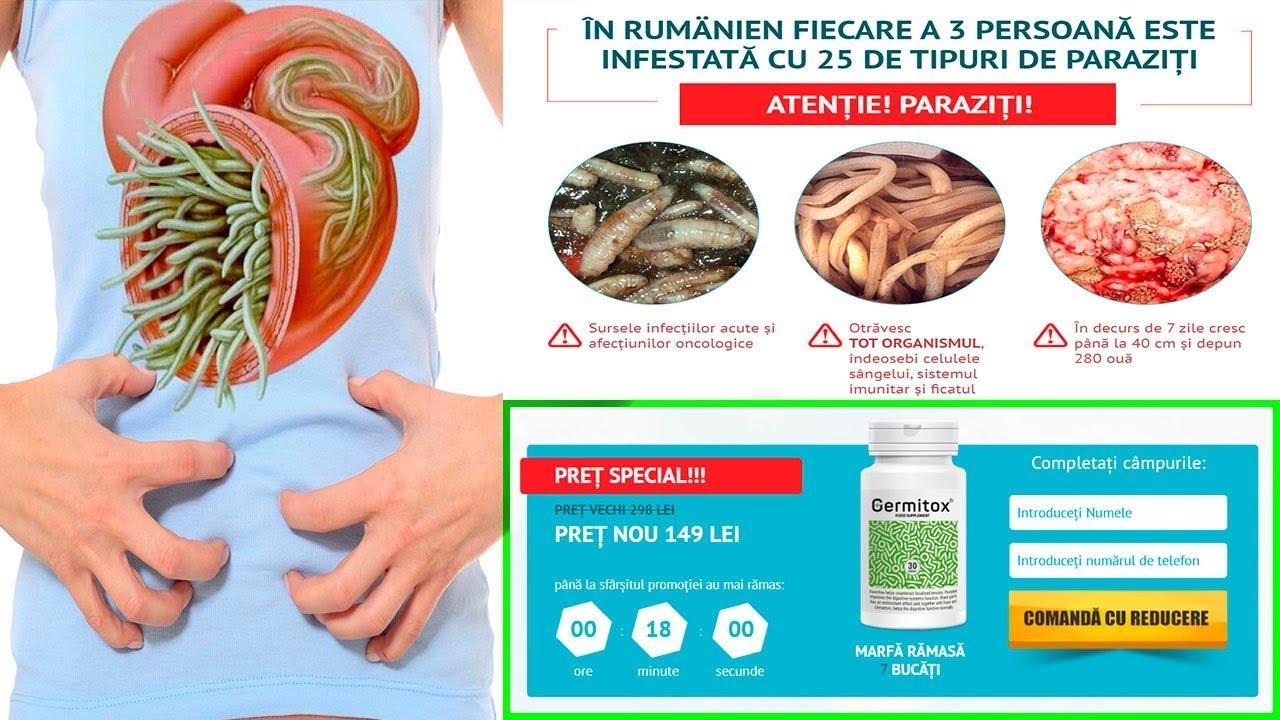 tablete la om pentru prevenirea viermilor