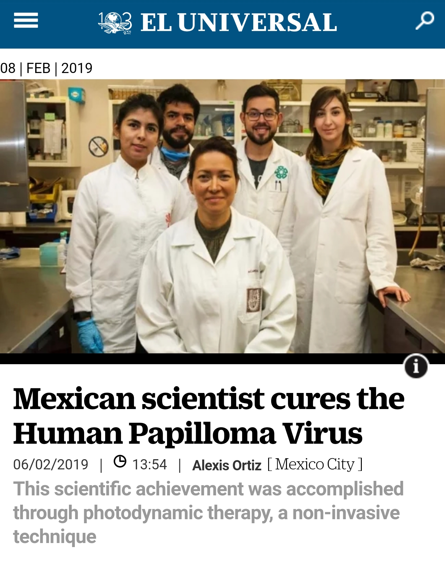 Hpv cure by mexican, Hpv virus cure mexican scientist, Hpv cure mexican