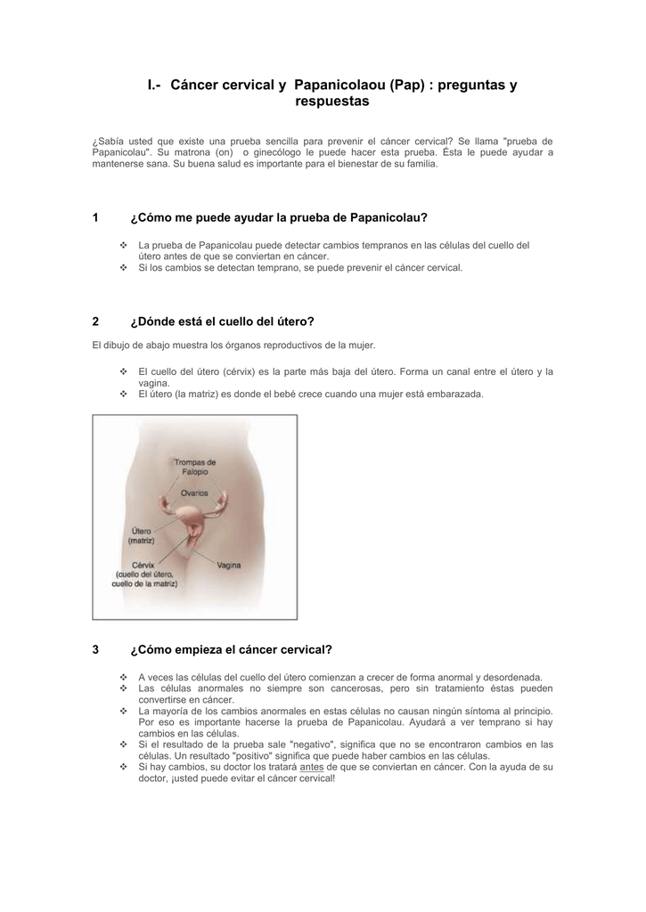 Papanicolaou anormal en el embarazo - El papiloma se transmite en el embarazo